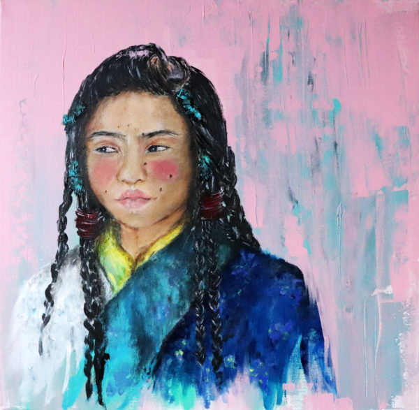 Ella dice… De fuga al Tíbet – 50×50