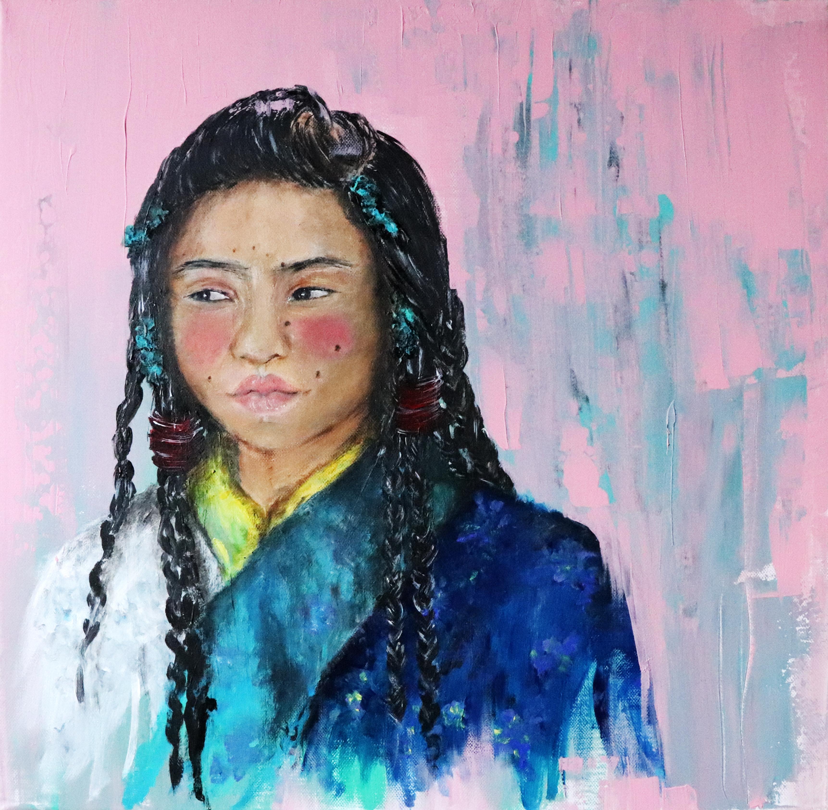 Ella dice... De fuga al Tíbet - 50x50